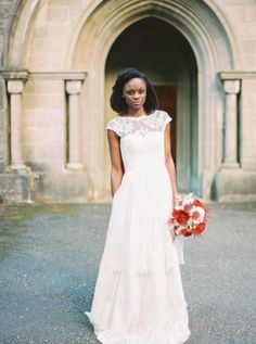 Wedding Dress Ideas, Designers & Inspiration  :    Romantic illusion neck lace wedding dress: www.stylemepretty…   Photography: Matoli Keely – matolikeelyphotog…   https://greatmag.net/wedding/wedding-dress/wedding-dress-ideas-romantic-illusion-neck-lace-wedding-dress-www-stylemepretty-photography-m/