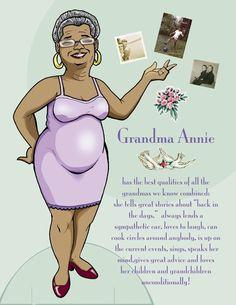 Grandma Annie - #P-1-4