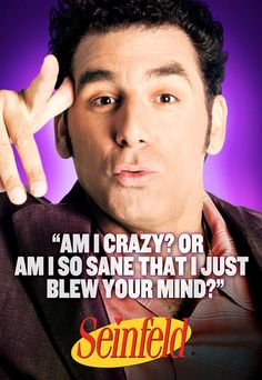 Kramer :: Seinfeld.  I think he's cute, too.  He made the show.  Love me some Kramer!!