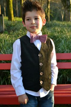 Parcel #4: made-by-sara: SchoolBoy Vest - for Perfect Pattern Parcel #4 Boys edition