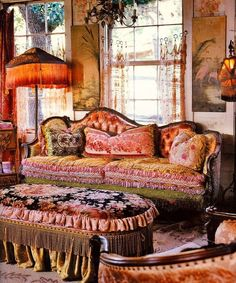 Bohemian Style Living Room Ideas | ... is part of 10 in the series Cool Boho Chic Interior Decorating Ideas
