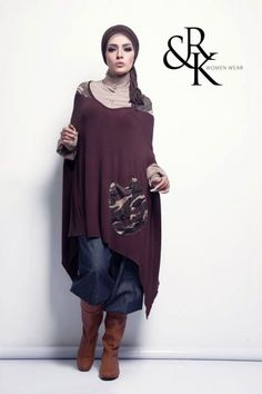 Rahaf and kenzy winter designs by Naima Kamel   Just Trendy Girls