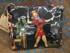 Atenti Ladies Handbag- Cowgirl Cosmetic Bag