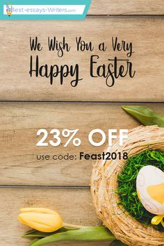 """Hurry up! Your #discount is waiting for you, friends! Only till April 9, use your promo #code """"Feast2018"""", for all kind of #academic papers! Be successful with us! #easter #holiday #sale #papers"""