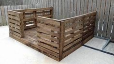pallet furniture project idea share by furniture from wood palettes