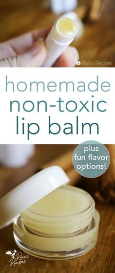 This DIY, non-toxic lip balm makes an easy, healthy alternative to store-bought lip balms. With only a few, safe ingredients, you'll be surprised at how easy it is to whip up.