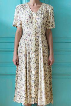 Button Dress, Fashion Dresses, Short Sleeve Dresses, Womens Fashion, Buttons, Clothes, Summer, Gowns, Fashion Show Dresses