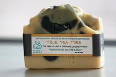 True Tea Tree.  Handcrafted Soap. Vegan. by PurringBuddha on Etsy