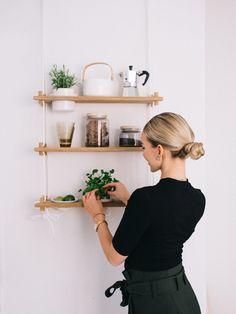 Sohvani tarina - Vilma P. Floating Shelves, Lifestyle, Vintage, Design, Home Decor, Homes, Decoration, Garden, Decor