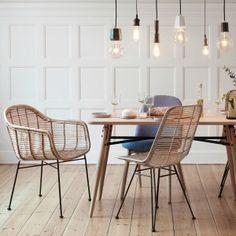 Rattan Stühle von HÜBSCH Interior