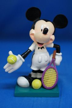 "Mickey Love All 6"" Figurine 17830 Disney Inspearations Retired Tennis Agassi #WestlandGiftware #Figurines"