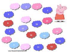 Printable Reward Chart Peppa Pig