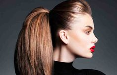 Cortes de pelo con efecto antiedad. Si estás buscando un corte de pelo que te reste 10 años de un plumazo, sigue nuestros consejos y seguro que encuentras el perfecto para ti. El envejecimiento es uno de los temas que más preocupan a las mujeres. Independientemente de los tratamientos y las crema Blond, Face Photo, Tips Belleza, Photo Reference, Great Hair, Ponytail, Locks, Hair Beauty, Make Up