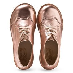 Young Soles Rose Gold Brogues