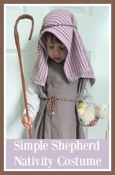 I was very relieved to find out that Harry had been cast as a Shepherd in his pre-school Nativity play. It is the very first costume that we...