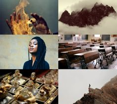 Harry Potter Aesthetics ➤ Wizarding school: Uagadou #1