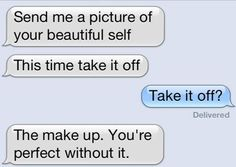 Omg, sweetest thing ever. <3