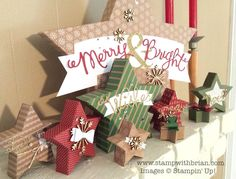 Many Merry Stars Kit, Stampin' Up!