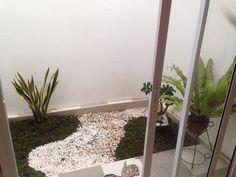 Taman kecil Indoor Garden, Home And Garden, Backyard, Patio, Dream House Plans, Skylight, Garden Inspiration, Future House, Ladder Decor