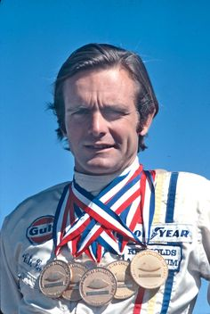 Peter Revson 1971 CAN AM Champion GULF McLaren M8F