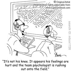 Team Psychologist = Athletic Trainer Hilarious and so true! Def just lol'd