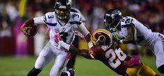 #NFL Russell Wilson guió victoria de Seattle en Washington