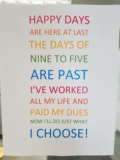 Retirement sign Source by