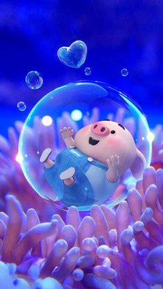 Pig Wallpaper, Happy Wallpaper, Disney Wallpaper, This Little Piggy, Little Pigs, Cute Piglets, Pig Illustration, Funny Pigs, Animated Dragon