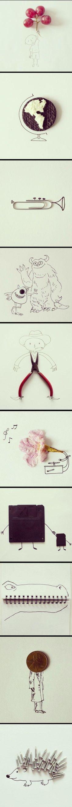 Wahnsinn, wie kreativ manche Menschen sind!