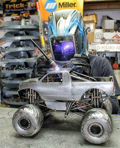 Monster truck miller welding