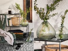 Furniture, textiles and decoration details for your balcony.