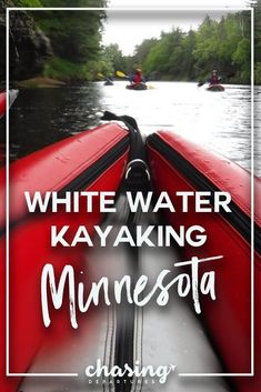 Minnesota is home to at least lakes, it only makes sense that they would have rivers to Kayak on. Kayaking near Minneapolis. Kayak Camping, Canoe And Kayak, Road Trip Destinations, Amazing Destinations, White Water Kayak, Us Road Trip, Weekend Trips, Travel Usa, The Great Outdoors