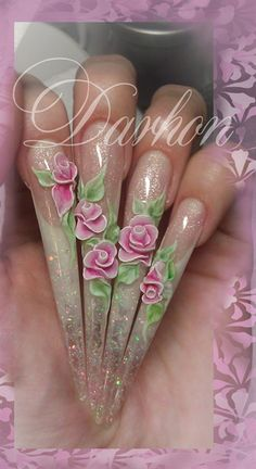 Cool but in a really weird way ✦⊱Sexy Stiletto Nails⊰✦ ❤️ | Greg