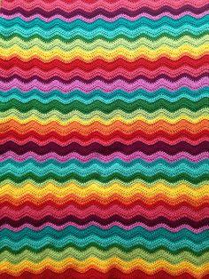 Ravelry: sonialena's Soft Rainbow Waves