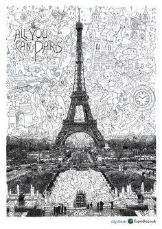 Expedia City Breaks: Moscow, Paris, London