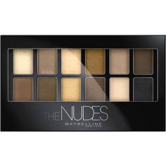 Maybelline New York The Nudes Eyeshadow Palette Walmart.com ($9.98) ❤ liked on Polyvore featuring beauty products, makeup, eye makeup, eyeshadow, nude eyeshadow, maybelline, maybelline eyeshadow, maybelline eye makeup and maybelline eye-shadow