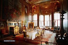 State Dining Room , Burghley House, Lincolnshire, England