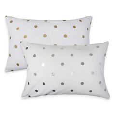 The Vintage House by Park B. Smith Dazzling Dots Oblong Throw Pillow