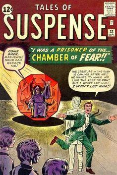 #marvelcomics #marvel #comicbooks #covers #superheroes #comicwhisperer #comiccovers #talesofsuspense