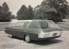 Ford concept car unknown