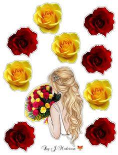 Princess Cupcake Toppers, Princess Cupcakes, Art Drawings, Printables, Stickers, Disney, Flowers, Plants, Safari Party