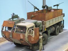 RE: M 977 HEMTT Gun Truck / FERTIG - 2