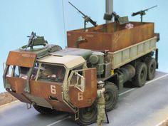 RE: M 977 HEMTT Gun Truck / FERTIG - 2