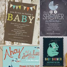 Anticipate Lil Ones' Arrival With These 11 Baby Shower Invites!