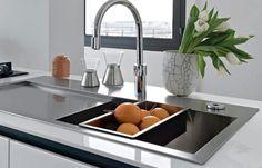 Sturdy kitchen tap