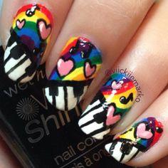 Instagram photo by viickiiemarko  #nail #nails #nailart