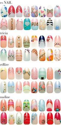 nail art inspiration!!! needed this badly!
