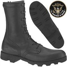 Altama Black Combat Vulcanized Boot 7852