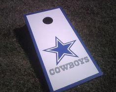 dallas cowboys cornhole boards | photo