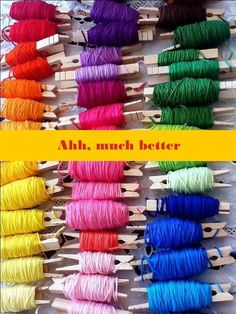 Great idea for keeping thread tidy.